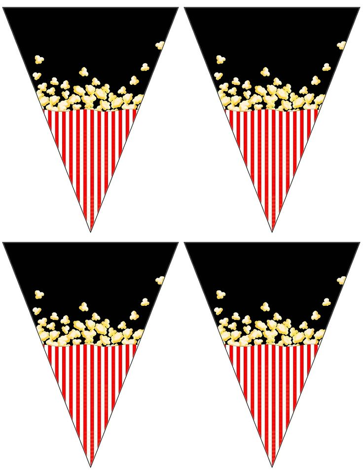 Popcorn Banners (free to use)