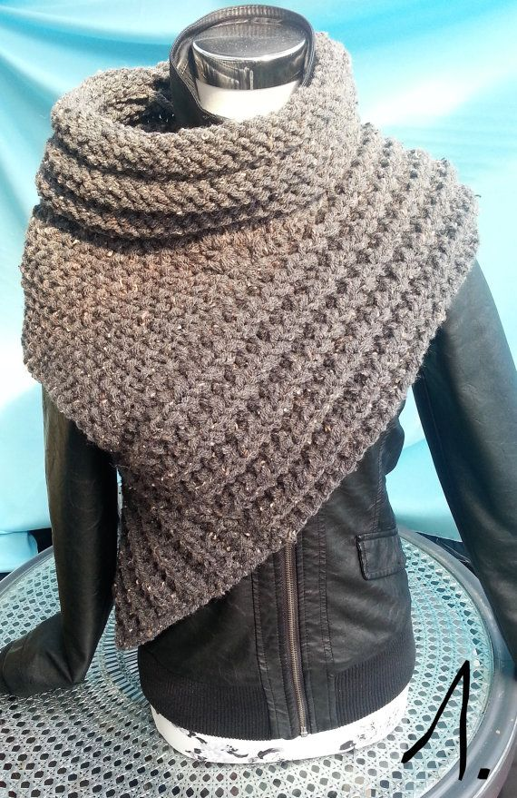 scarf vest gr sm panem katniss scarf vest poncho cape
