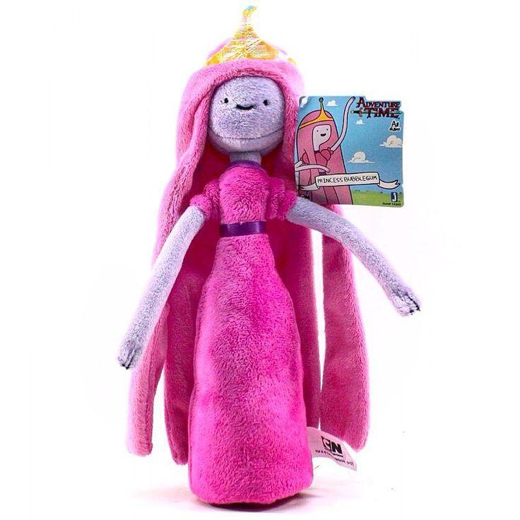 """Герой мультфильма """"Время приключений"""" Принцесса Бубльгум/Боннибелл /1291р./ @zebratoy.ru  Качественное исполнение  Износостойкий материал (плюш)  Полностью соответствует своему экранному персонажу  высота игрушки: 30 cm  вес: 94 г  представленное фото - реальный образец игрушки  #принцесса #принцессабубль #принцессабубльгум #бубльгуммарселин #бубльгумимарселин #бубльгум #времяприключений #adventure #adventuretime #adventureculture #adventurethatislife #мультгерои #детям #мягкиеигрушки…"""