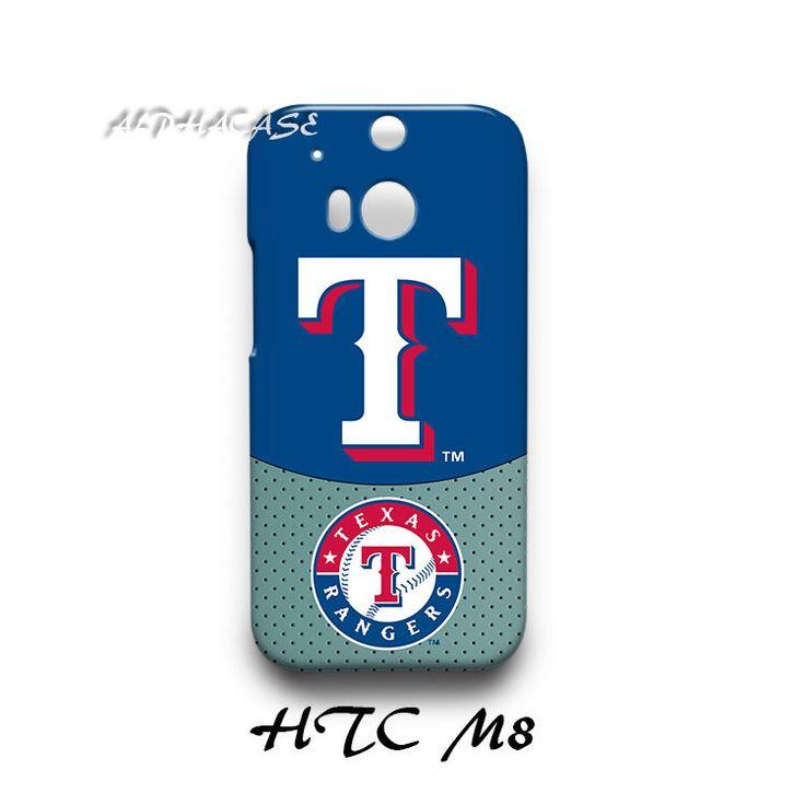 Texas Rangers HTC M8 Hardshell Case Cover