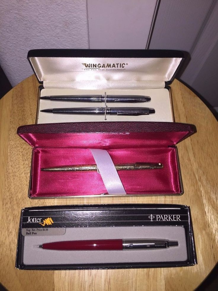 VINTAGE PARKER SHEAFFER WINGAMATIC BALL POINT PENS  | eBay