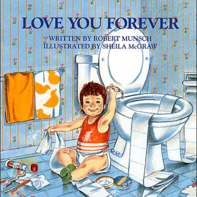 Love You Forever.  This is the most precious book on the face of the earth.  Every mother should have it...along with a box of Kleenex!! dmy