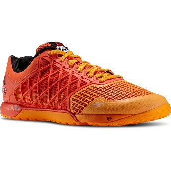 Men's Reebok CrossFit Nano 4.0 - FLUX ORANGE / HAZARD ORANGE