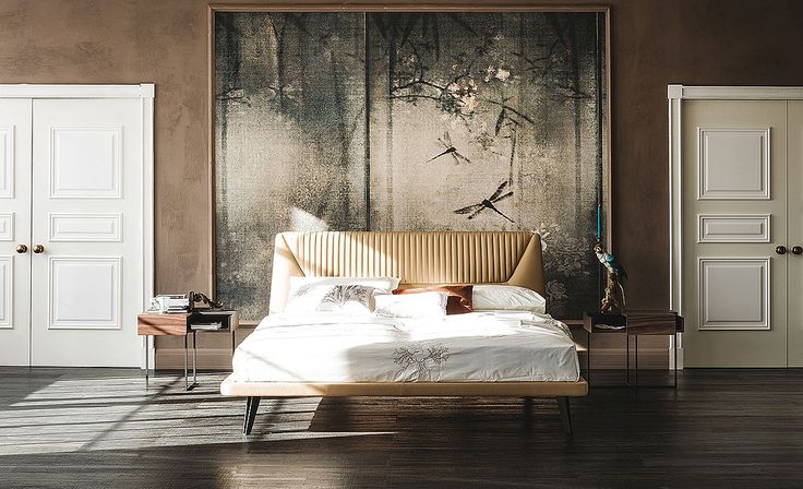 Fabulous-Upholstered-bed-covered-in-leather-from-Cattelan-Italia Fabulous-Upholstered-bed-covered-in-leather-from-Cattelan-Italia