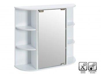 Mueble baño con espejo #mobiliariobano #espejobano #armariobano