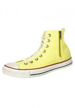 Converse - CHUCK TAYLOR ALL STAR HI SIDE ZIP CANVAS - Sneakers alte -  linden yellow