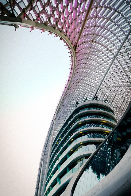 Yas Hotel, Abu Dhabi by AhmedOth, via Flickr