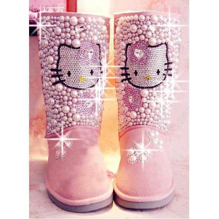 ugg boots hello kitty