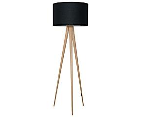 Staande lamp tripod naturel mid century modern love