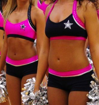 7ae6729169701 Dallas Cowboys Cheerleaders training outfits