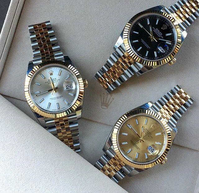 Take a pick...Rolex DateJust.