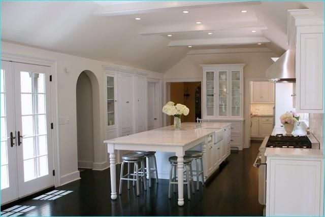 38 Amazing Narrow Kitchen Island With Seating Ideas Decor Renewal Kitchen Island With Seating For 4 Narrow Kitchen Island Kitchen With Long Island