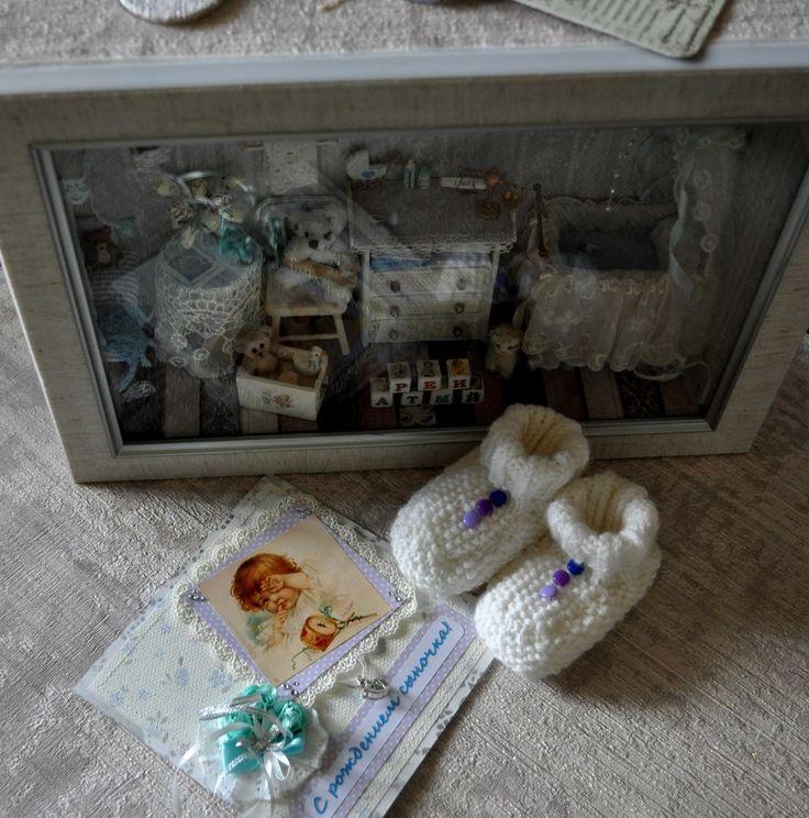 Подарки для новорожденного ручной работы