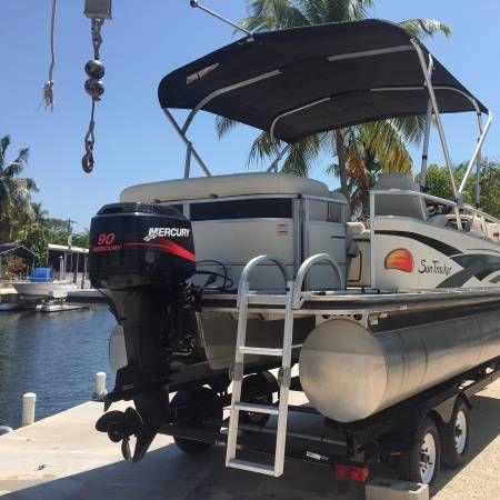 En venta de Ocasión Pontoon Boat Suntracker 20 del 2008