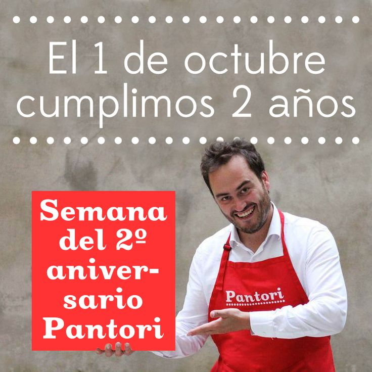 Semana del 2º aniversario Pantori