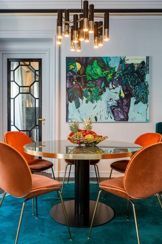 25+ Best Ideas About Orange Dining Room On Pinterest   Orange