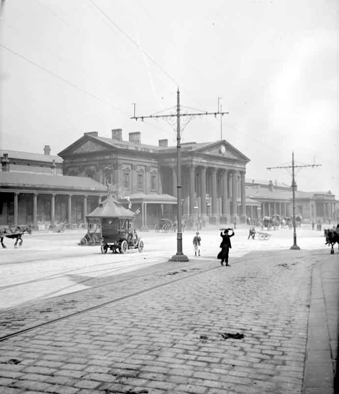 Huddersfield Railway Station, 1911