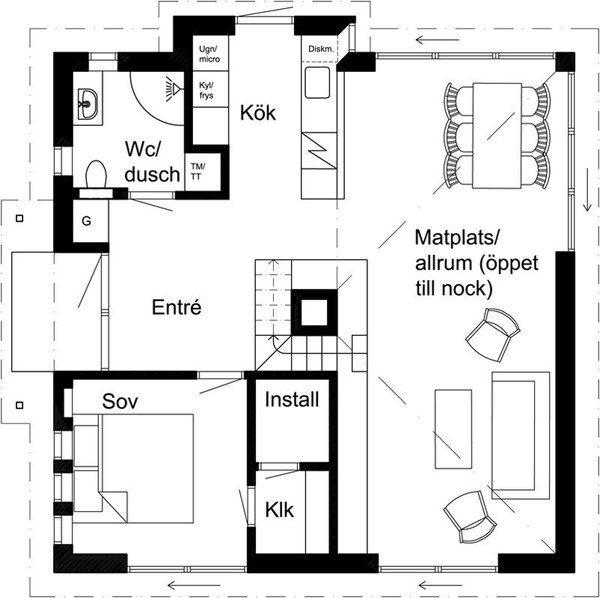 Шведский минимализм World of building, сооружения, строительство, архитектура, познавательно, интересное, Швеция, дизайн, длиннопост