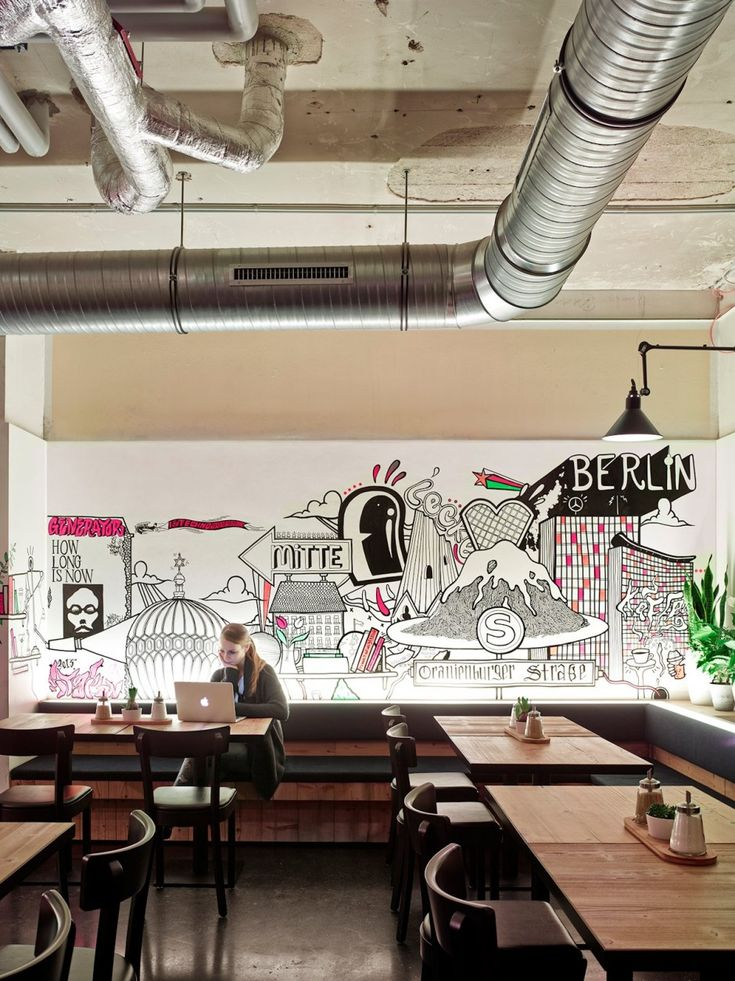 The Generator Hostel Berlin Mitte in Germany/ by Ester Bruzkus together with WAF Architects and DesignAgency.