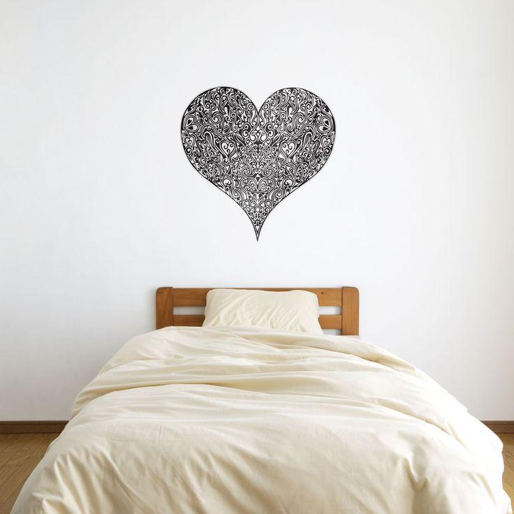 The Heart Within Vinyl Wall Art Sticker by David Thornton | Vinyl Revolution