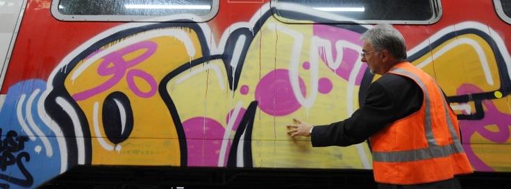 Deutsche Bahn setzt Drohnen gegen Graffiti-Sprüher ein