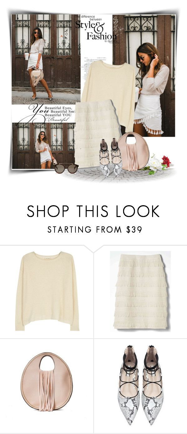 """Без названия #7995"" by bliznec ❤ liked on Polyvore featuring American Vintage, Banana Republic, Handbag Republic and STELLA McCARTNEY"