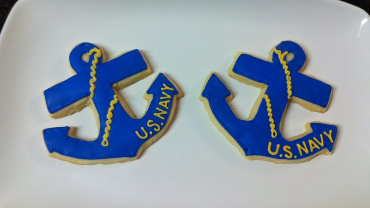 Navy Cookies for the Away From Home Thanksgiving Lunch on Base