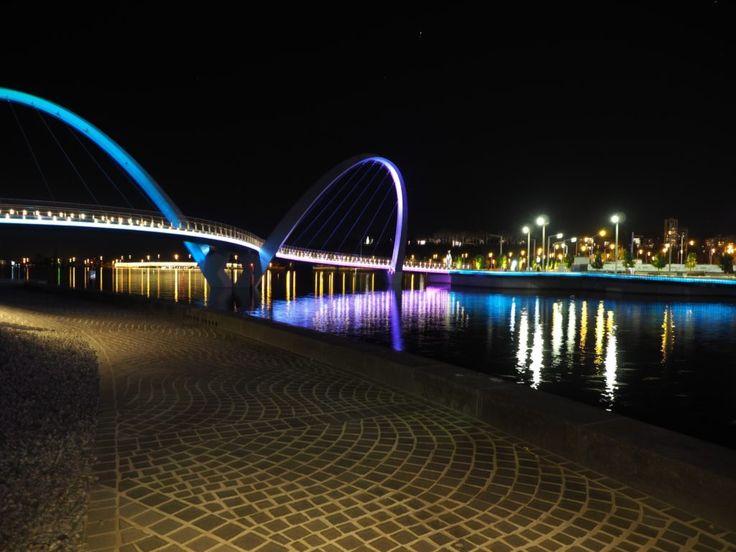Elizabeth Quay Perth at Night