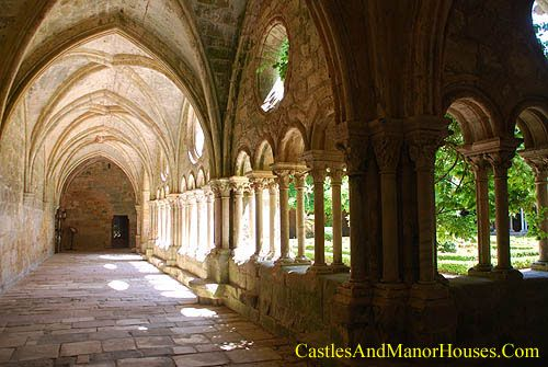 Fontfroide Abbey, 15 kilometers south-west of Narbonne, Aude, France.... http://www.catharcountry.info/ ... Fontfroide Abbey or l'Abbaye Sainte-Marie de Fontfroide is a former Cistercian monastery founded in 1093 by the Viscount of Narbonne. This abbey was the Cistercian centre of operations during the Albigensian Crusade - the 13th Century war against the Cathars of the Languedoc.