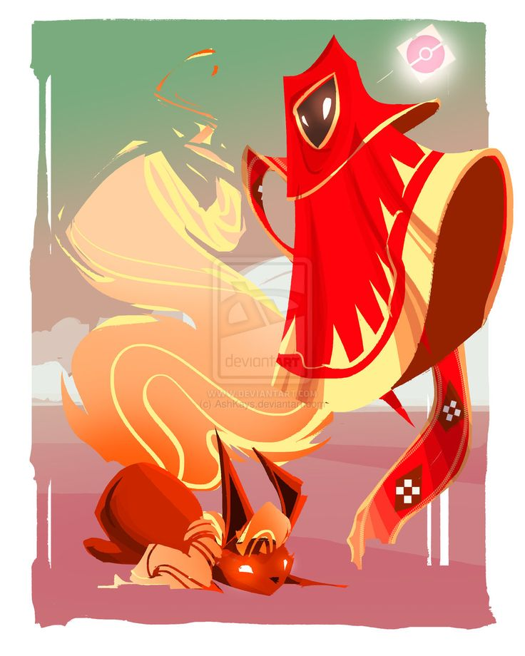 Flareon's Journey by AshKays.deviantart.com on @deviantART