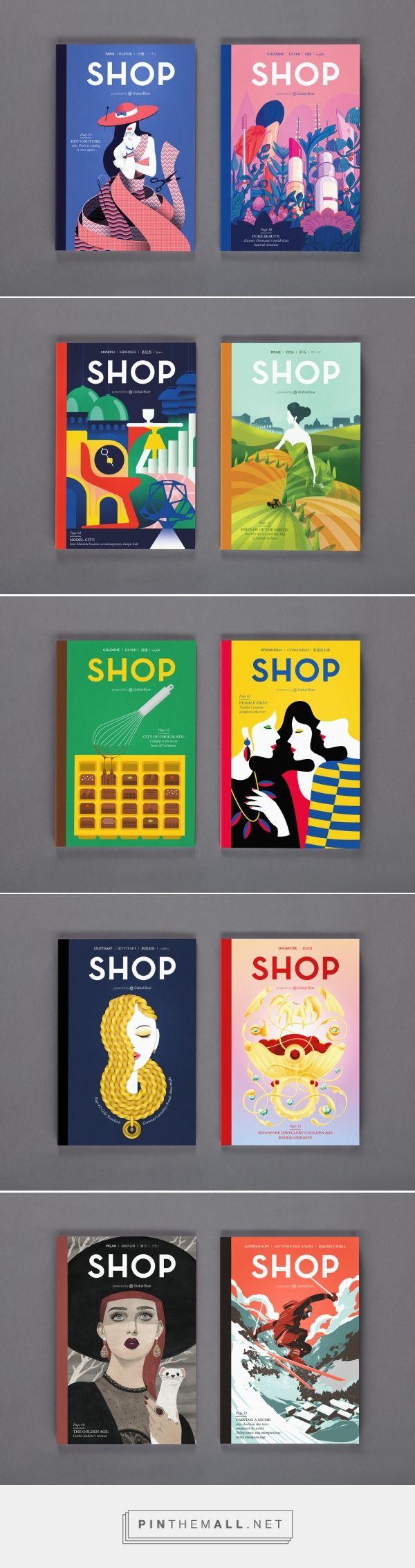 SHOP Magazine 2015   Design by S-T