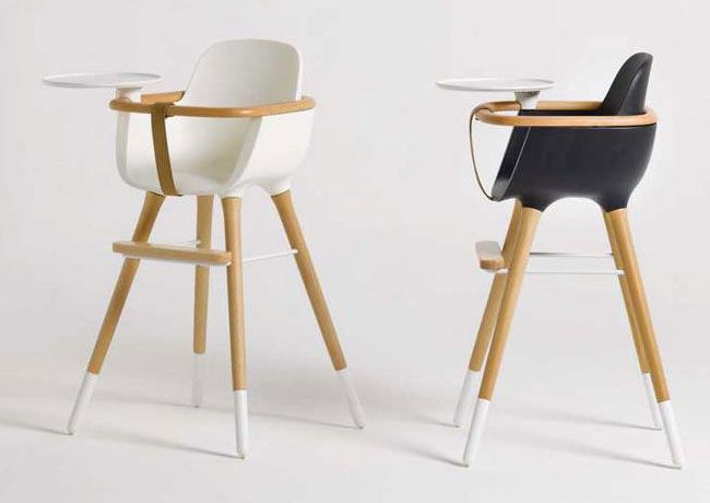 The Ovo convertible high chair by Micuna.