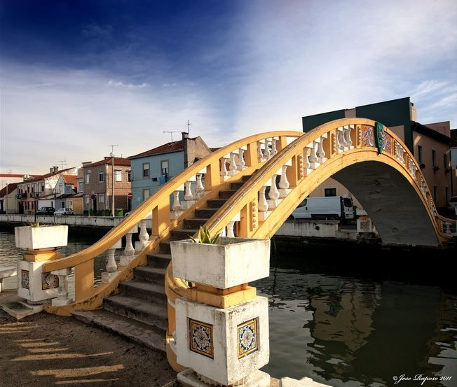 * Ponte dos Carcavelos * Canal de São Roque. Aveiro, Portugal.