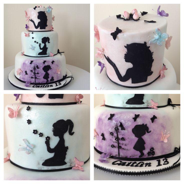 My Granddaughters 13th Birthday cake!