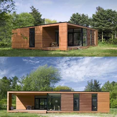 Danish style prefab-homes-onv