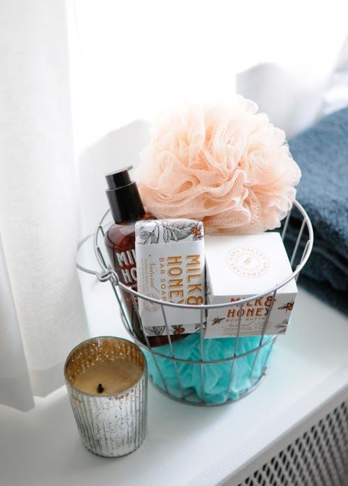 1000 Ideas About Wedding Toiletry Basket On Pinterest