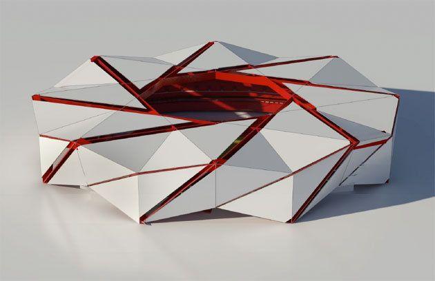 New Atlanta Falcons Stadium Concept design via 360 Architecture.