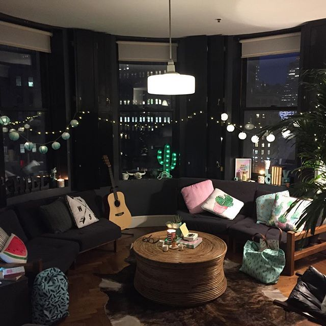 Throw back to this time last week where we decked out a NYC loft ft. the amazing