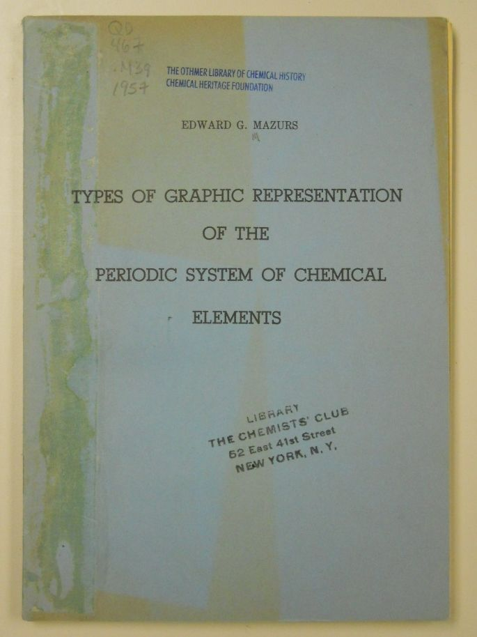 48 best periodic table images on pinterest periodic table types of graphic representation of the periodic system of chemical elements 1957 by edward urtaz Images