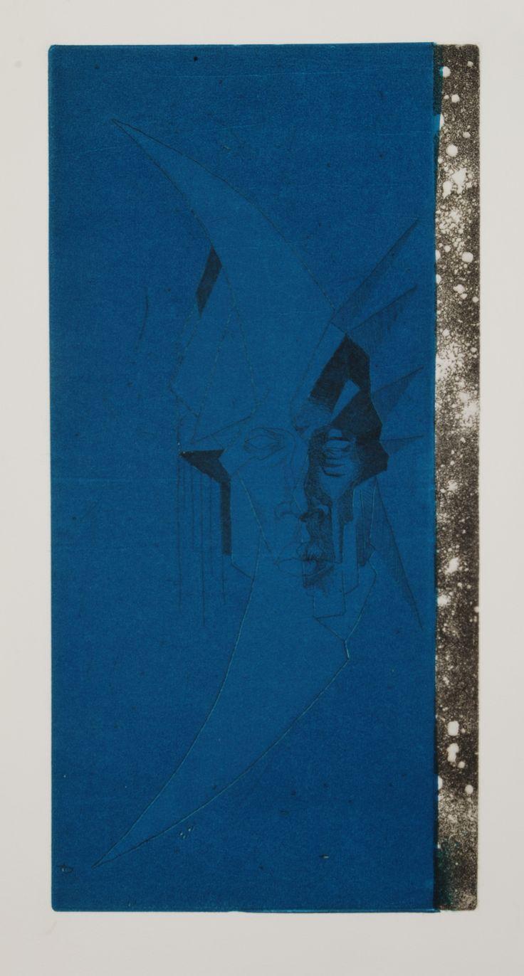 Seppo Alanissi - untitled, 2012, etching aquatint