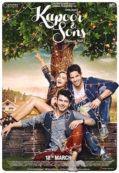 Kapoor & Sons this was such a wonderful movie.
