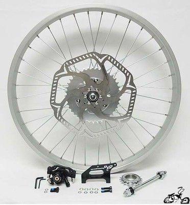 Motorized Rear Wheel Disc Brake Kit