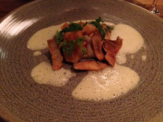 Gastrobar Emo - Very good Jerusalem artichoke
