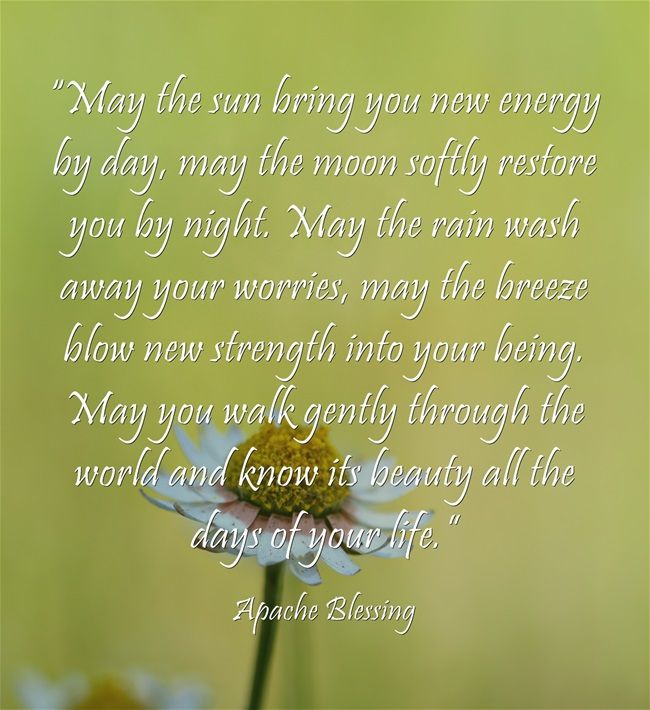 Inspirational Quotes About Positive: Inspirational Quotes About Blessings. QuotesGram