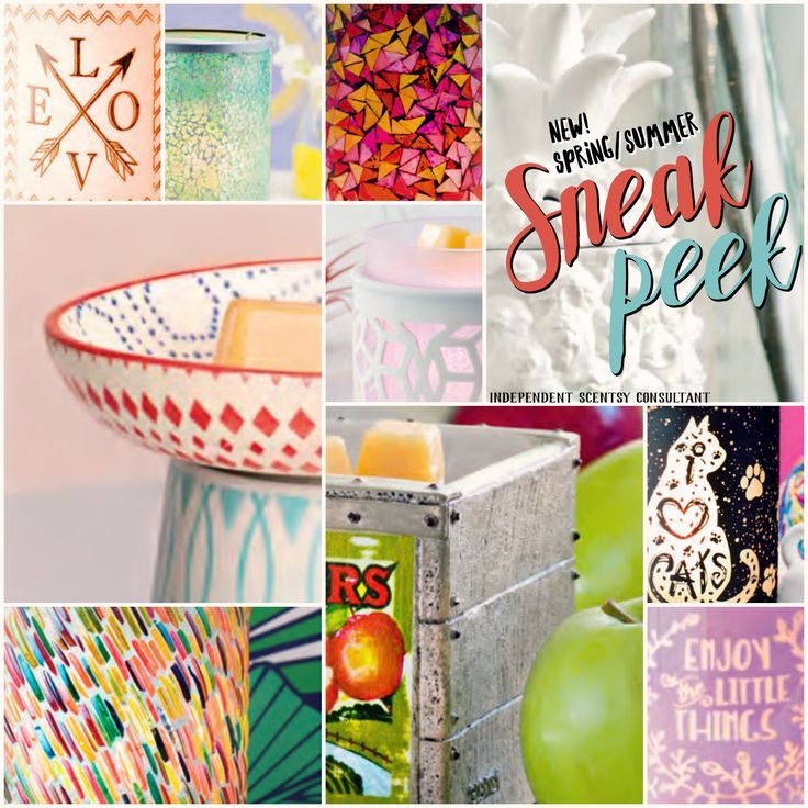 Our 2017 Spring/Summer Scentsy catalog sneak peek! If you'd like to be on my mailing list or host a party for the best catalog to date, contact me now!
