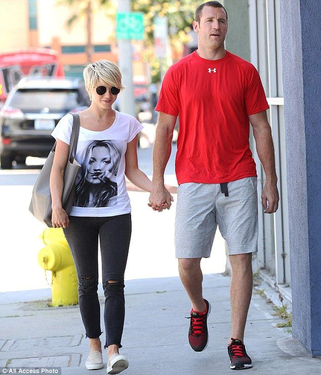 The 25-year-old Dancing With The Stars pro and the professional hockey player, 30, were seen holding hands as they strolled down the street together in Los Angeles on Thursday.