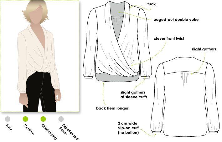 Style Arc Dotty blouse | thornberry