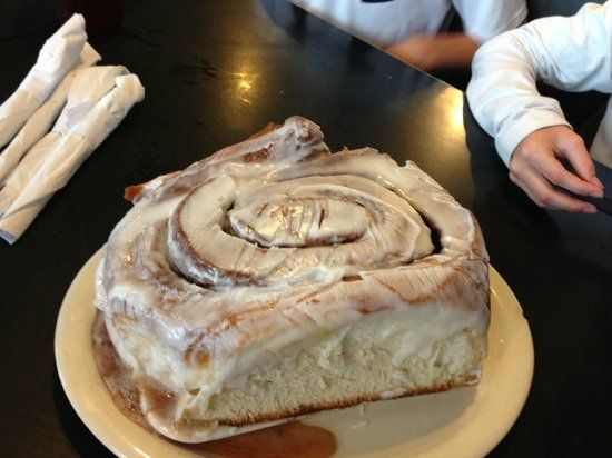 Lulu's Bakery and Cafe, San Antonio Picture: 3 lb cinnamon roll - Check out TripAdvisor members' 27,724 candid photos and videos.