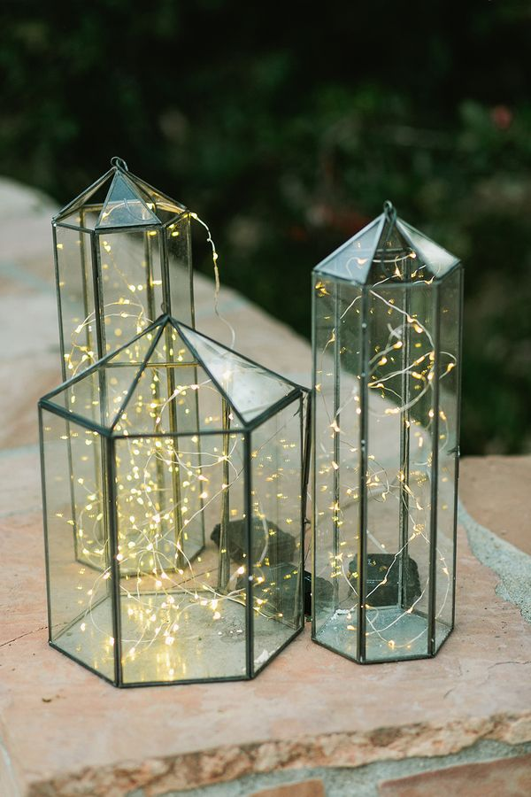Fairy lights - Vintage Style Wedding Decorations