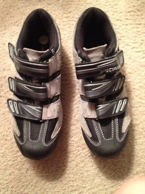 Specialized Bike Bicycle Shoes Clips Size 42-EUC